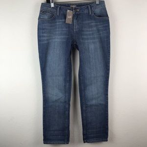 J. Jill Relaxed Fit Blue Denim Jeans